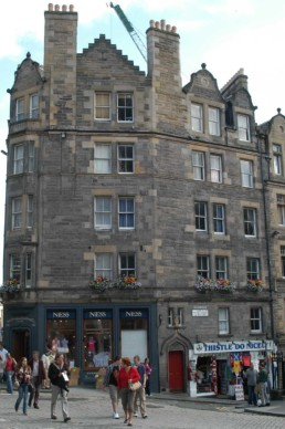 Edinburgh stone building