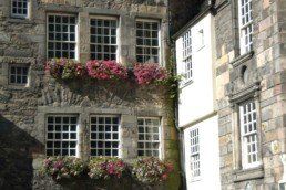 Edinburgh two-story window box