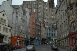 Edinburgh street color